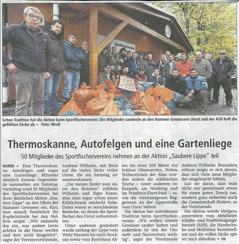 """Aktion """"saubere Lippe"""" 2017"""